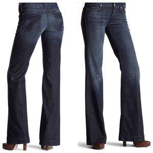 7 For All Mankind Dojo Flare Leg Jeans